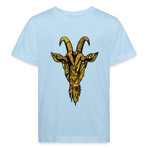 Geit - Økologisk T-skjorte for barn
