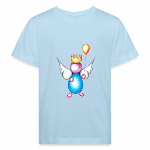 Mettalic Angel geluk - Kinderen Bio-T-shirt
