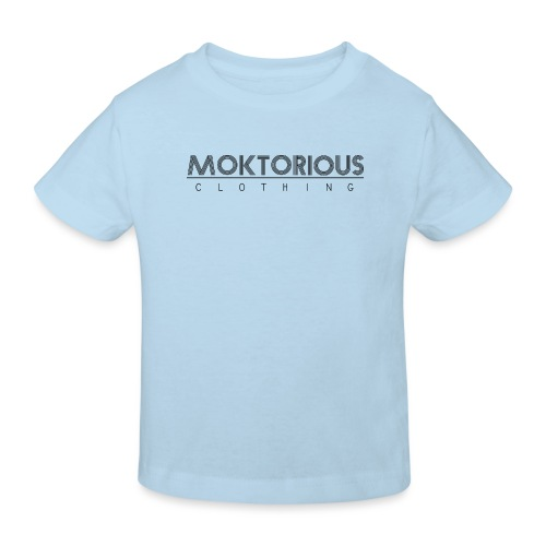 MOKTORIOUS CLOTHING - BLACK - VERTICAL - Kinder Bio-T-Shirt