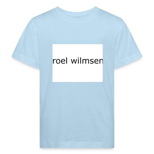 roel doet youtube - Kinderen Bio-T-shirt