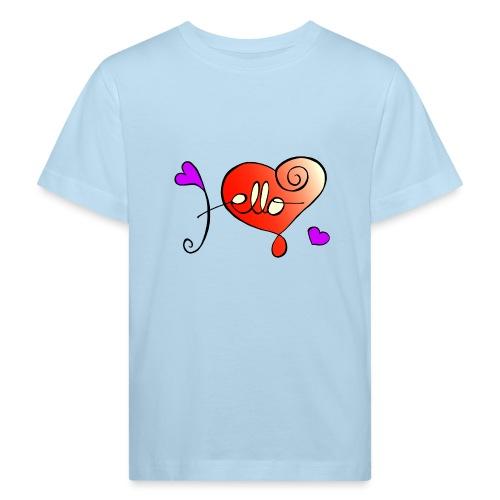 Hello Herz - Kinder Bio-T-Shirt