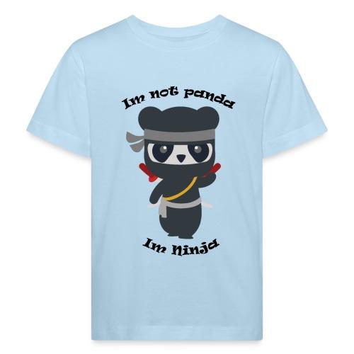 Non sono un Panda - Maglietta ecologica per bambini