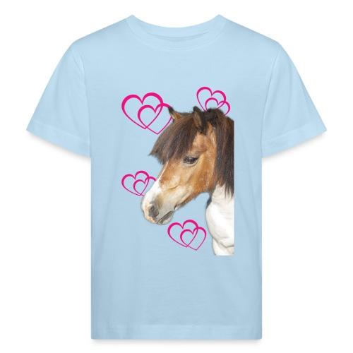 Hästälskare (Bella) - Ekologisk T-shirt barn