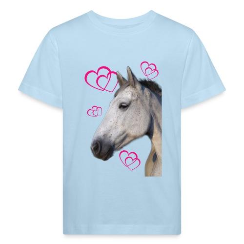 Hästälskare (maya) - Ekologisk T-shirt barn