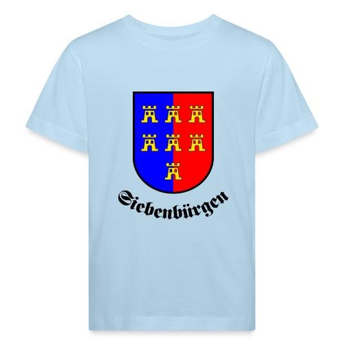 Wappen der Siebenbürger Sachsen Siebenbürgen - Kinder Bio-T-Shirt