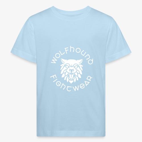 logo round w - Kids' Organic T-Shirt