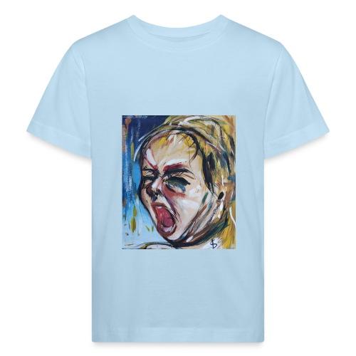 Bimbo che piange - Maglietta ecologica per bambini