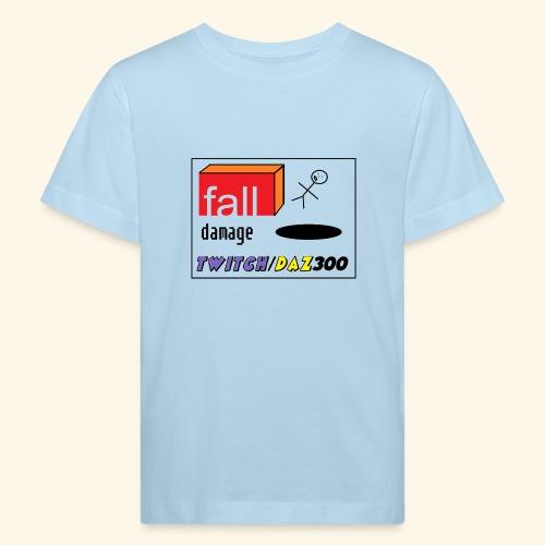 fall damage - Kids' Organic T-Shirt