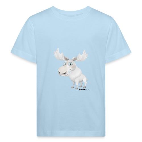 Albino elg - Økologisk T-skjorte for barn