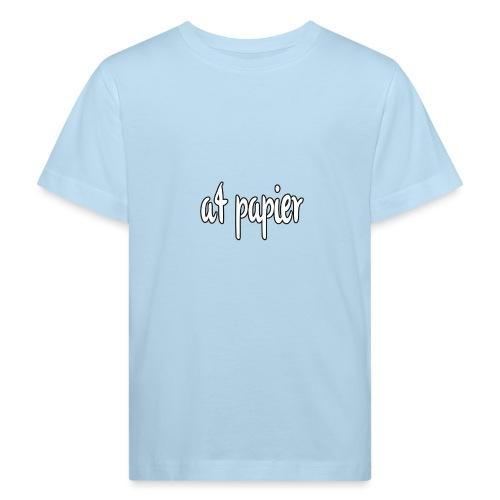 A4Papier - Kinderen Bio-T-shirt