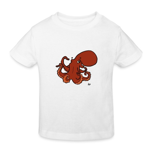 Riesenkrake aus dem Pazifik - Kinder Bio-T-Shirt