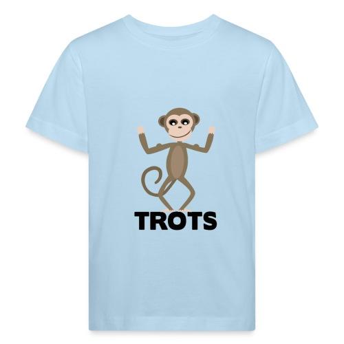apetrots aapje wat trots is - Kinderen Bio-T-shirt