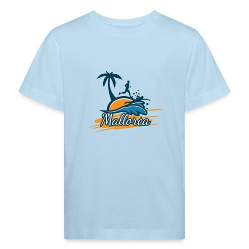 Joggen auf Mallorca - Sport - sportlich - Jogging - Kinder Bio-T-Shirt