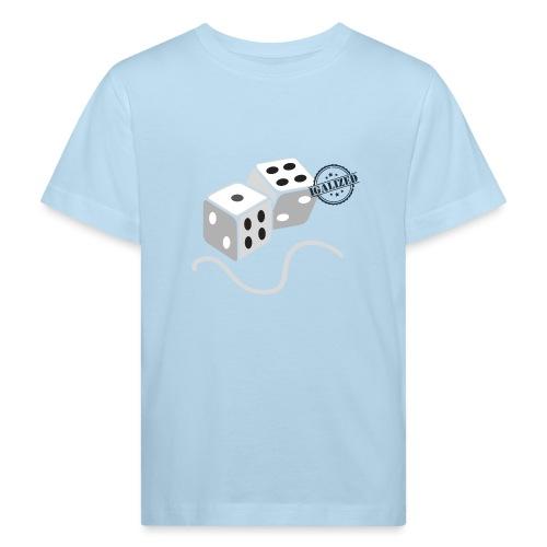 Dice - Symbols of Happiness - Kids' Organic T-Shirt