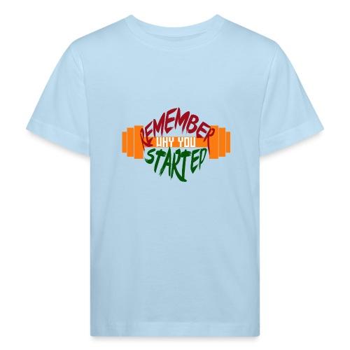 fitness draw - T-shirt bio Enfant