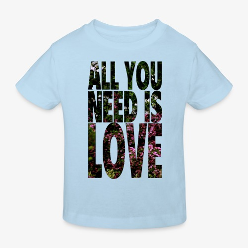 All You need is love - Ekologiczna koszulka dziecięca