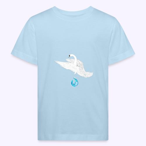 swan - Maglietta ecologica per bambini