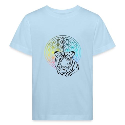 fleur de vie tigre - T-shirt bio Enfant