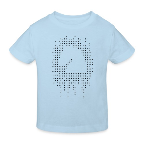 Knight and Dots Inverted - Kids' Organic T-Shirt