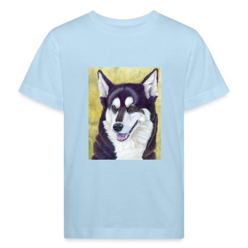 Siberian husky - Organic børne shirt