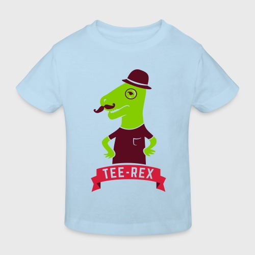 Gentleman T-Rex - T-shirt bio Enfant