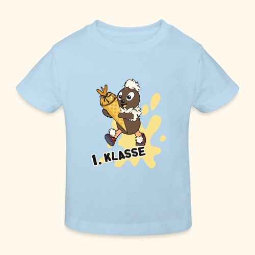 Pittiplatsch 1. Klasse - Kinder Bio-T-Shirt