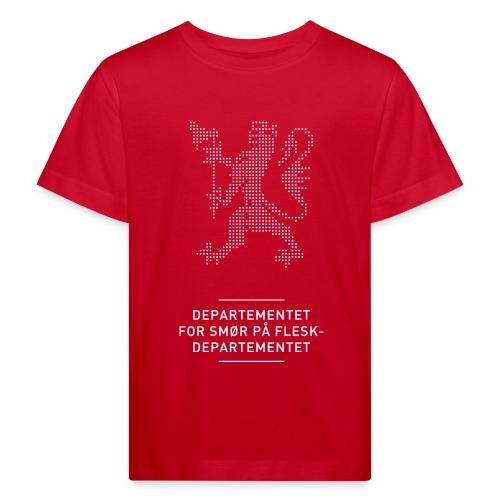 Departementsdepartementet (fra Det norske plagg) - Økologisk T-skjorte for barn