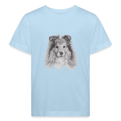 shetland sheepdog sheltie - Organic børne shirt