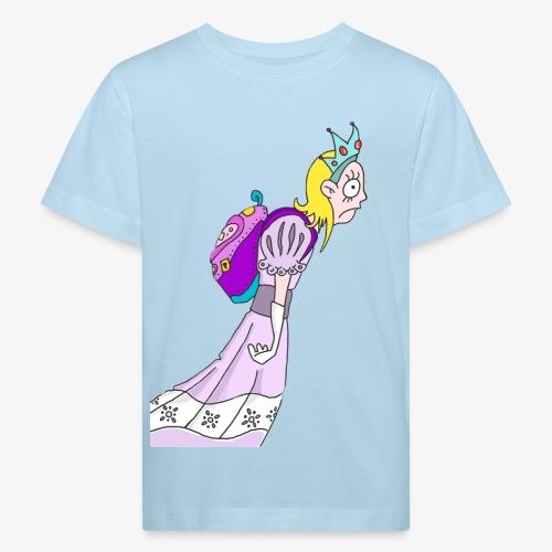 Princess goes to school - T-shirt bio Enfant
