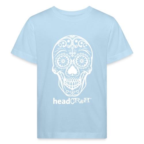 Skull & Logo white - Kinder Bio-T-Shirt