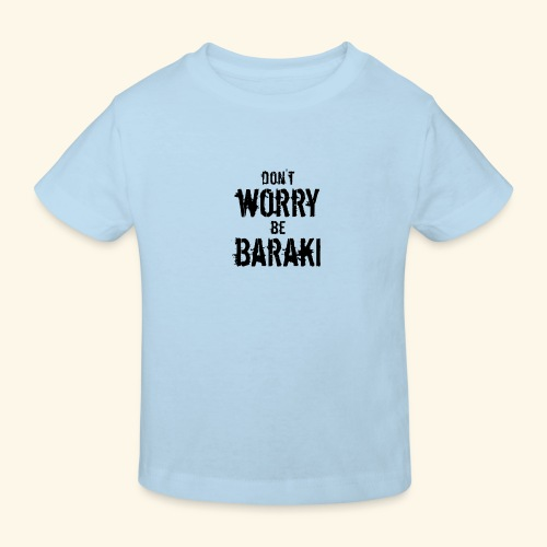 Be Baraki (Noir) - T-shirt bio Enfant