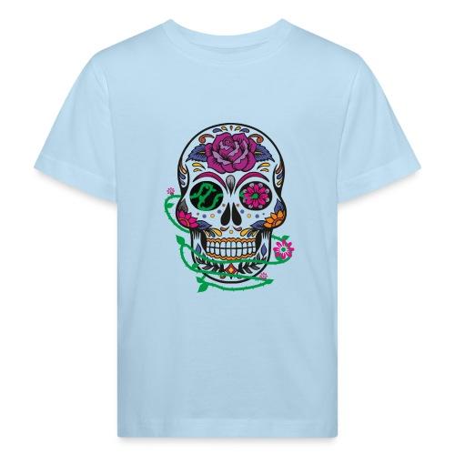 calavera 1 - Camiseta ecológica niño