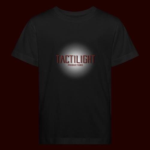Tactilight Logo - Kids' Organic T-Shirt
