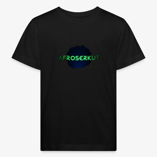 AfroSerkut LOGO - Lasten luonnonmukainen t-paita