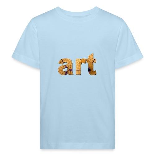 art - T-shirt bio Enfant