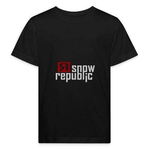 SNOWREPUBLIC 2020 - Kinderen Bio-T-shirt