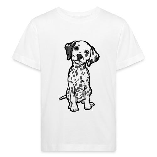 Dalmatian Grey Spots - Kids' Organic T-Shirt
