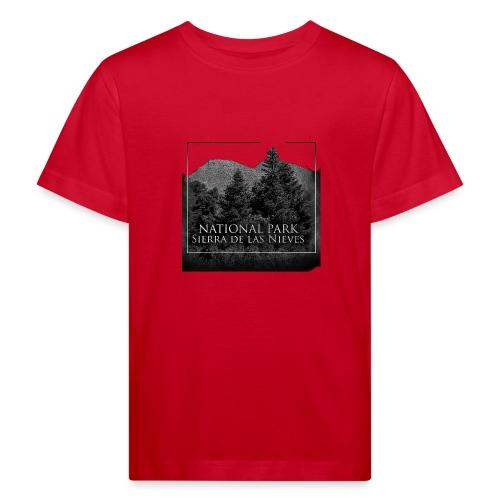National Park Sierra de las Nieves - Camiseta ecológica niño