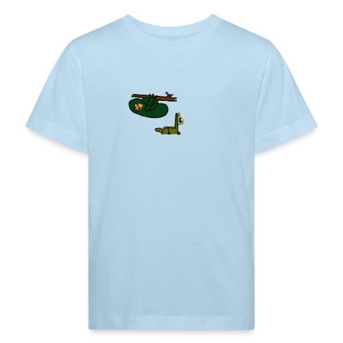 Sloth + Llama - Kids' Organic T-Shirt