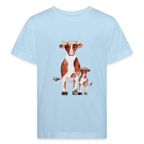 Kühe - Kinder Bio-T-Shirt