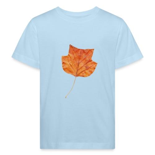 Herbst-Blatt - Kinder Bio-T-Shirt