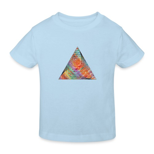 Triangle of twisted color - Kids' Organic T-Shirt