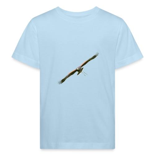 Harris Hawk - Wüstenbussard im Anflug - Kinder Bio-T-Shirt
