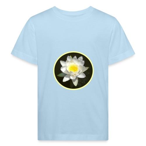 weisse SEEROSE - Kinder Bio-T-Shirt