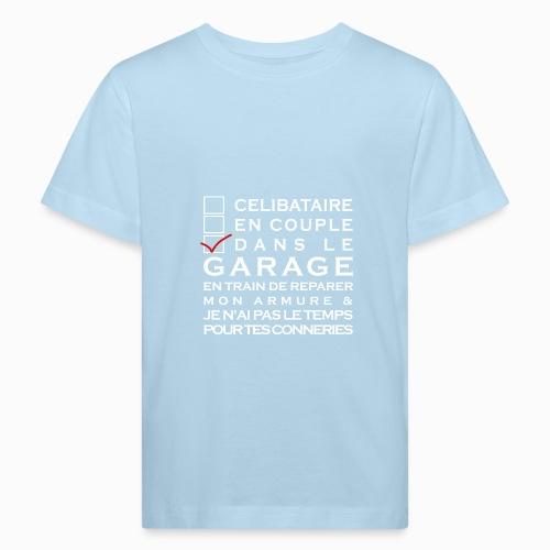 Celibataire en couple etc - T-shirt bio Enfant