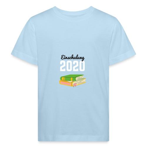Einschulung 2020 - Kinder Bio-T-Shirt