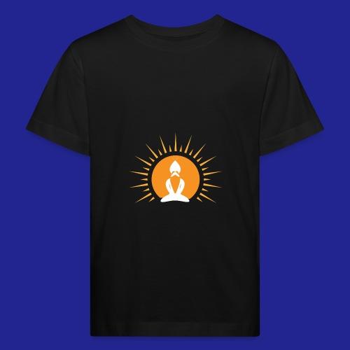 Guramylyfe logo white no text - Kids' Organic T-Shirt