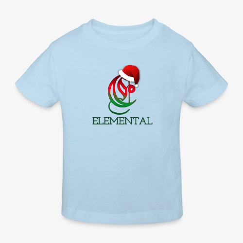 Exclusive Elemental Christmas Logo - Kids' Organic T-Shirt