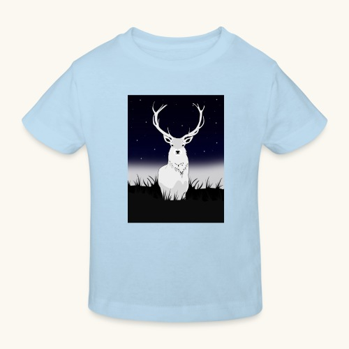 Cerf Blanc - T-shirt bio Enfant