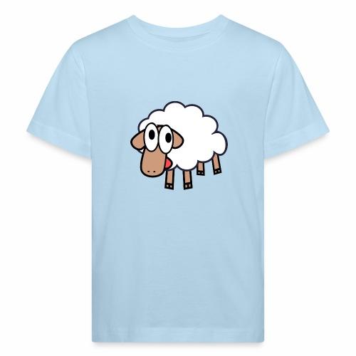 Sheep Cartoon - Kinderen Bio-T-shirt